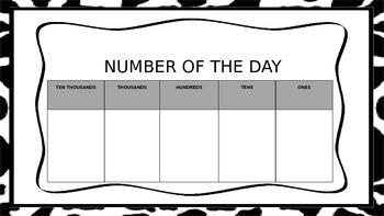 Common Core Daily Math Bulletin Board