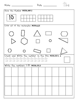 Common Core Daily Math December