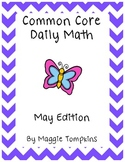 Common Core Daily Math May Edition