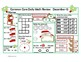 Daily Math Review--December Theme Grade 2 Common Core Aligned
