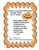 Daily Math Review  October Theme Grade 2-Common Core Aligned