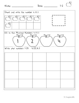 Common Core Daily Math September Edition