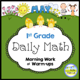 Morning Work Spiral Daily Math   1st Grade May