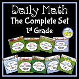 Morning Work Spiral Daily Math 1st Grade - Complete Set BUNDLE