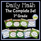 Morning Work Daily Math 1st Grade - Complete Set BUNDLE