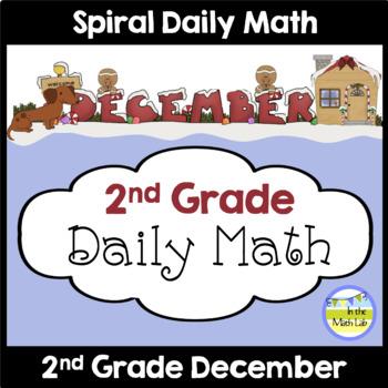 Morning Work   2nd Grade December