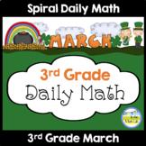 Morning Work Spiral Math   3rd Grade March