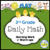 Math Distance Learning | Spiral Daily Math | 3rd Grade May