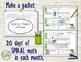 Morning Work Daily Math for 3rd Grade: Sept - Dec Bundle