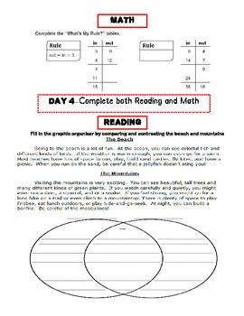 Common Core Daily Practice