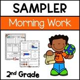 Morning Work Freebie for 2nd grade