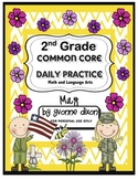 Common Core Daily Practice Worksheets for Second Grade (May)