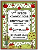 Common Core Daily Practice Worksheets for Second Grade (Se
