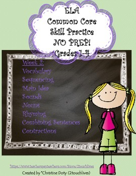 Common Core Daily Skill Practice