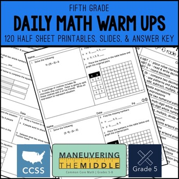 Common Core Worksheets & Activities | CCSS 5 NBT A 3b