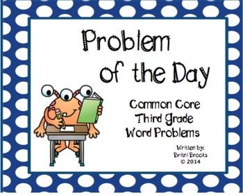 Common Core Daily Word Problems: Weeks 28 - 36