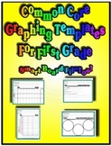 Common Core Data Collection Graphing Templates for First Grade!