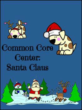 Christmas December Center Activity