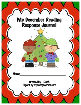 Common Core December Reading Response Journal