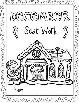 2nd Grade December Morning Seat Work- Common Core  Aligned