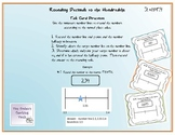 Common Core Decimal Rounding Task Cards 5.NBT.4