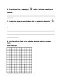Common Core Decimal/Fraction Unit Test