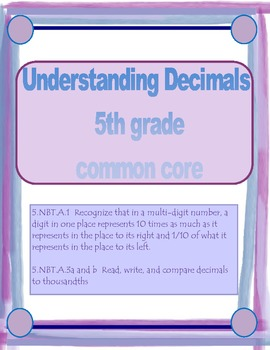 Common Core Decimals