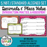 Common Core Decimals and Place Value 5.NBT.1 Bundle
