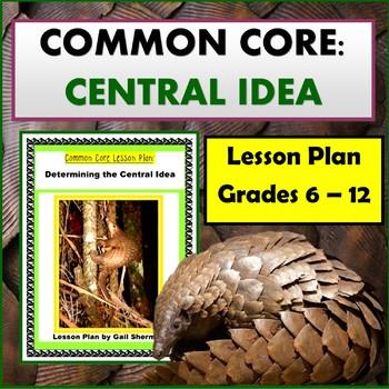 Common Core: Determining Central Idea