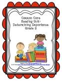 Common Core Determining Importance Reading Graphic Organiz