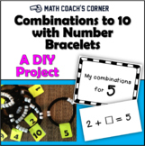Combinations to 10 with Number Bracelets