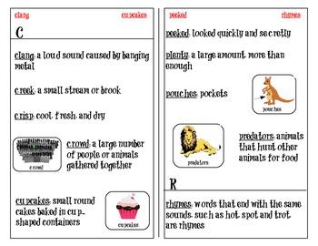 Common Core Dictionary Skills
