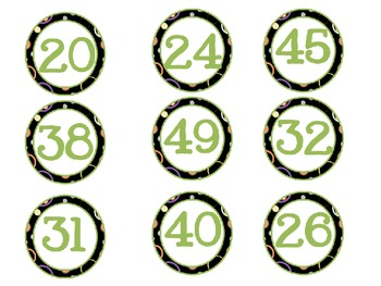 Common Core Differentiated Number Ordering Games *Editable*