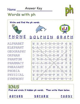 Common Core - Digraph Words with