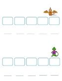 Common Core: Dinosaur Syllable Sort & Push Game
