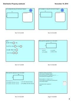 Common Core Distributive Property Lesson Grade 3  3.OA.5