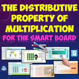 Distributive Property of Multiplication for the SMART Board w/ Homework
