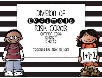 Common Core Division of Decimals