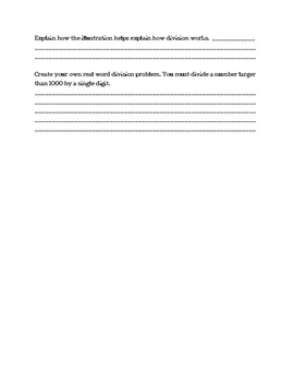 Common Core: Division word problems
