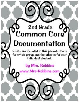Common Core Documentation 2nd Grade