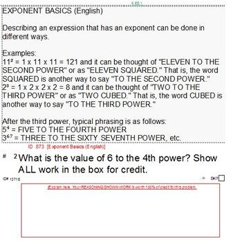 Domain EE (Grades 6-8) Summary & 6 Worksheets
