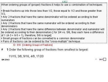 Domain NF (Grades 3-5) Summary & 6 worksheets