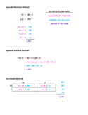 Common Core Double Digit Multiplication Help Sheet
