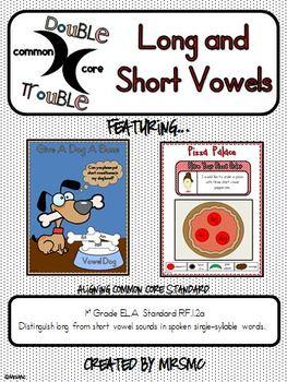 Common Core Double Trouble: Long and Short Vowels