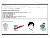 Common Core EDI Lesson Kinder, RL.K.3 Identify characters (description)