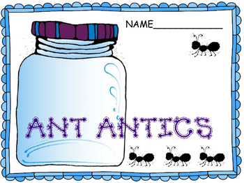 Common Core ELA: Ant Antics, a Word Study and Craftivity