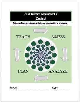 Common Core ELA Assessment (2) Grade 5