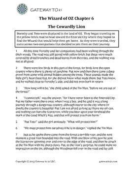 Common Core ELA Assessment (3) Grade 5