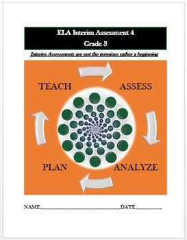 Common Core ELA Assessment (4) Grade 3