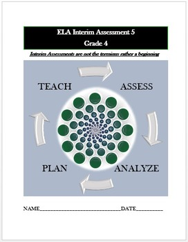 Common Core ELA Assessment (5) Grade 4